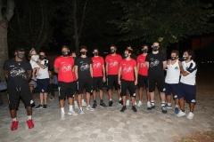 Alla Rocca Brancaleone con i tifosi