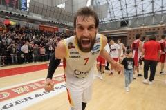 LNP serie A2 quattordicesima giornata.  OraSì Basket Ravenna -Unieuro Forlì.