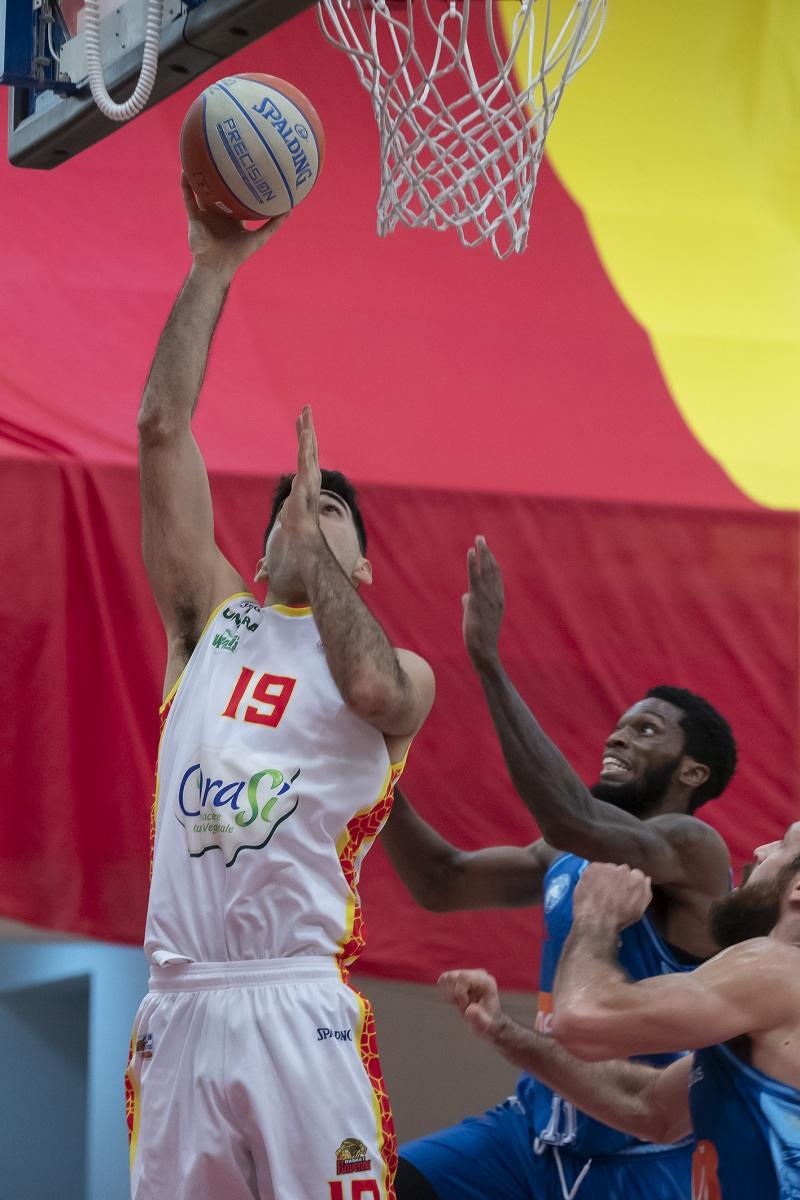 OraSi Ravenna Basket Ravenna - GeVi Napoli54 - 69.
