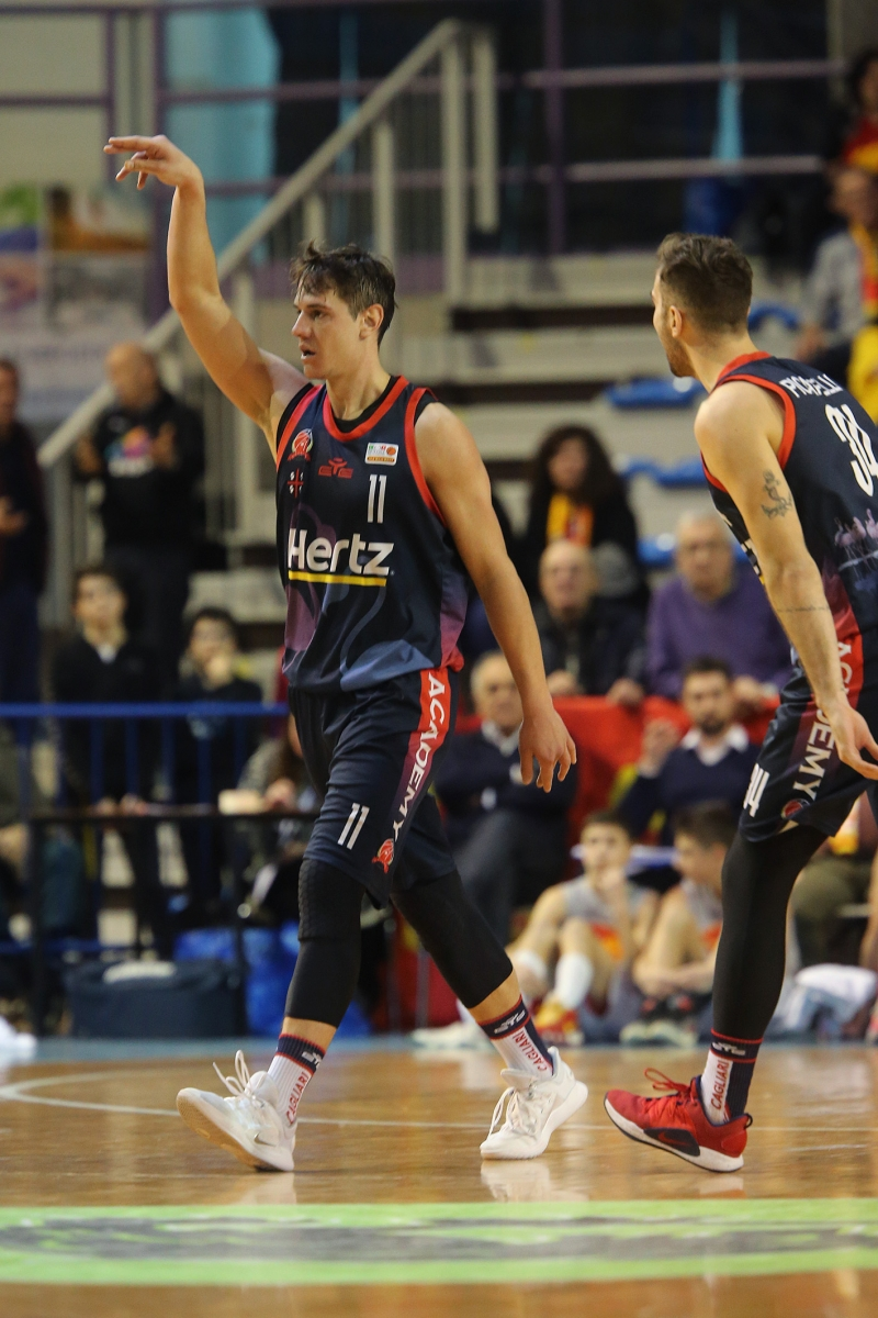 LNP serie A2 Diciottesima giornata. OraSì Basket Ravenna - Hertz Cagliari.