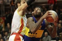 LNP serie A2 tredicesima giornata.  OraSì Basket Ravenna - XL Extralight Montegranaro.