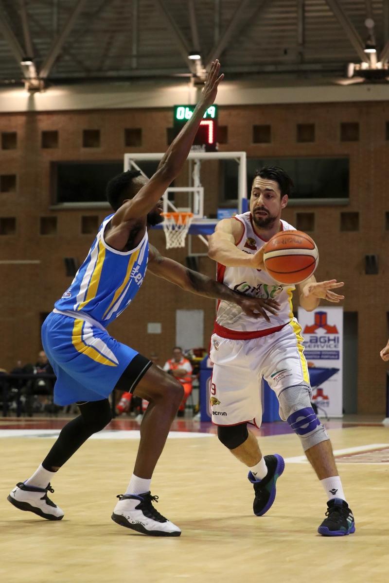 LNP serie A2  Play Off ottavi di finale gara 3.  OraSì Basket Ravenna - Benfapp Capo d'Orlando.