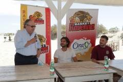 ORASI' BASKET RAVENNA. OraSì presenta i suoi primi acquisti, Tommaso Oxilia e Alessandro Simioni. Vianello