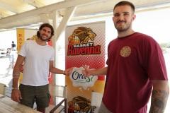 ORASI' BASKET RAVENNA. OraSì presenta i suoi primi acquisti, Tommaso Oxilia e Alessandro Simioni