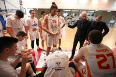 LNP serie A2, Quarta giornata girone azzurro. OraSì Basket Ravenna - Staff Mantova. Massimo Cancellieri
