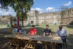 ORASI' BASKET RAVENNA. Presentazione di Andrea Arnaldo e Nicola Berdini
