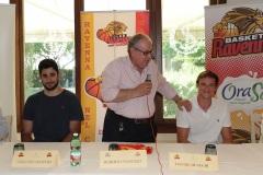 ORASI' BASKET RAVENNA. Presentazione di Davide Denegri e Giacomo Maspero, nuovi giocatori dell'OraSì Basket Ravenna.