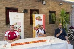 ORASI' BASKET RAVENNA, PRESENTATO GIULIO GAZZOTTI. Con Alessandro Lotesorier